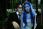 Emily and Victor Van Dort - Corpse Bride Cosplay
