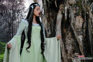 Arwen Undomiel - lord of the rings - cosplay by BabiSparrow