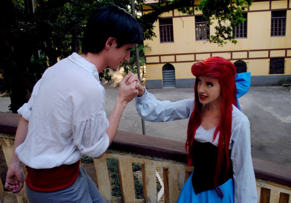 Ariel and Eric s2  Cosplay - Kiss The Girl by BabiSparrow