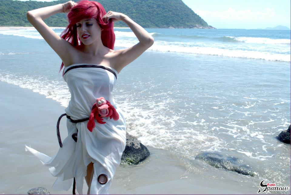 Ariel Sail Dress The Little Mermaid Cosplay By Babisparrow On
