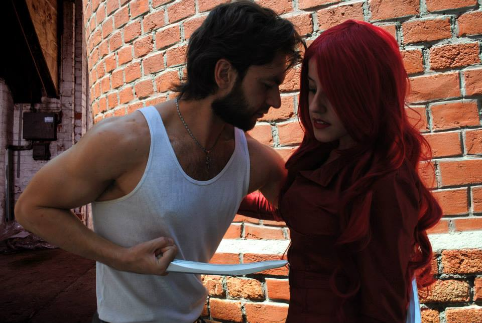 Jean Grey Phoenix and Wolverine - X men 3 cosplay by ...