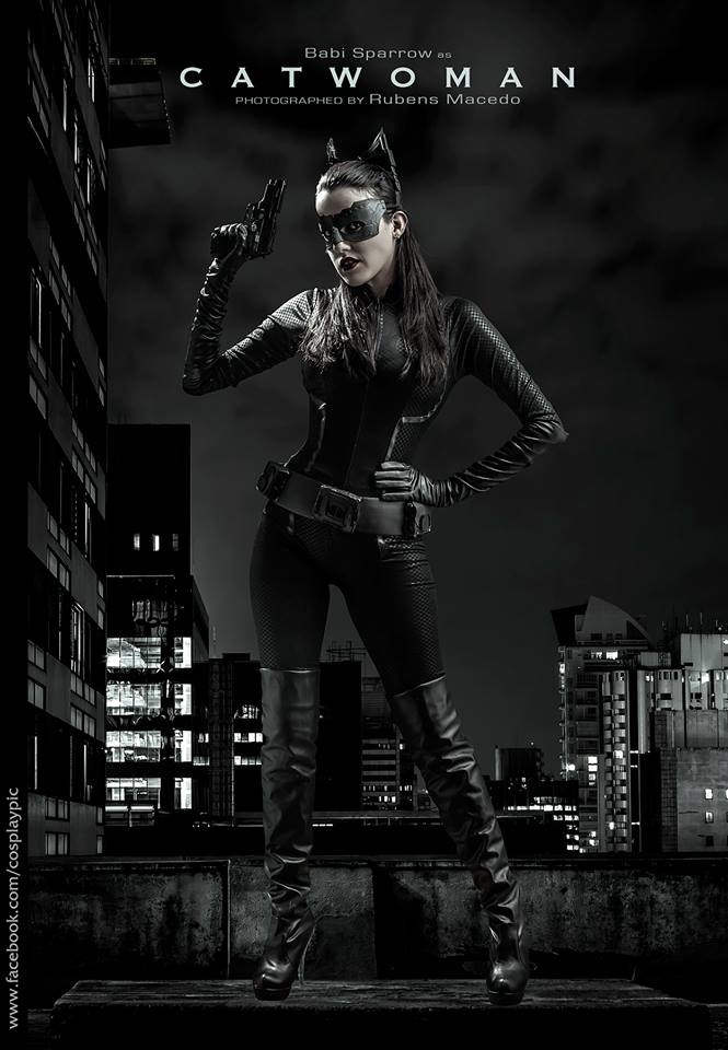 Catwoman - Selina Kyle - Anne Hathaway - TDKR by BabiSparrow