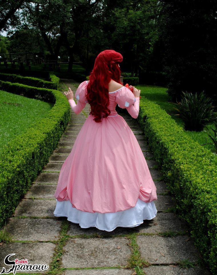 Ariel Pink Dress By Babisparrow On Deviantart