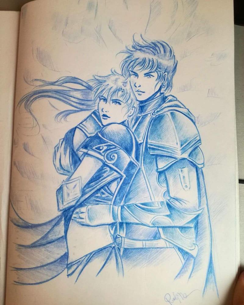 Warrior Couple by Vianne1013