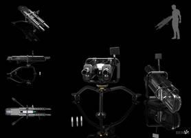 BENoe.P83.M3A 15MM CDD Machine Gun by b-e-noe