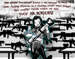 Asami Sato proud NRA supporter. by murrlogic1