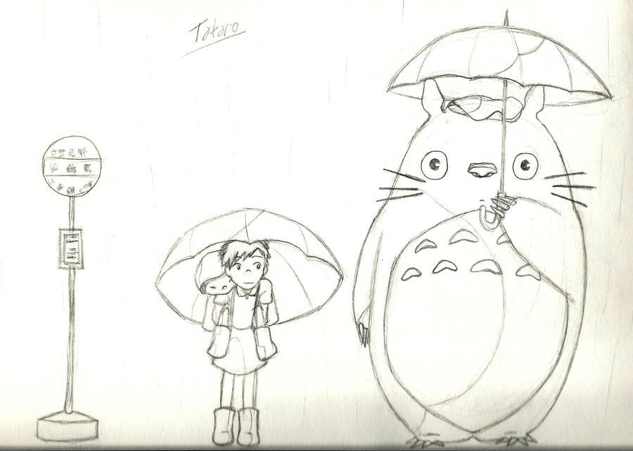 My Neighbor Totoro by nooneyouneedtoknow on DeviantArt
