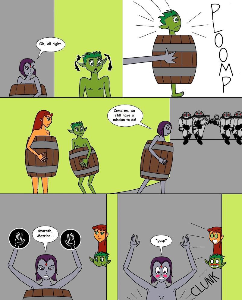 Teen Titans Naked Danger Page17 By Numbuh88 On Deviantart-6129
