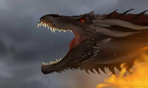 dracarys by drawalotosaur