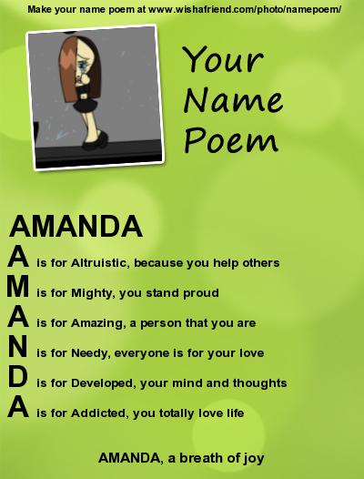 amanda the name wallpaper - photo #26
