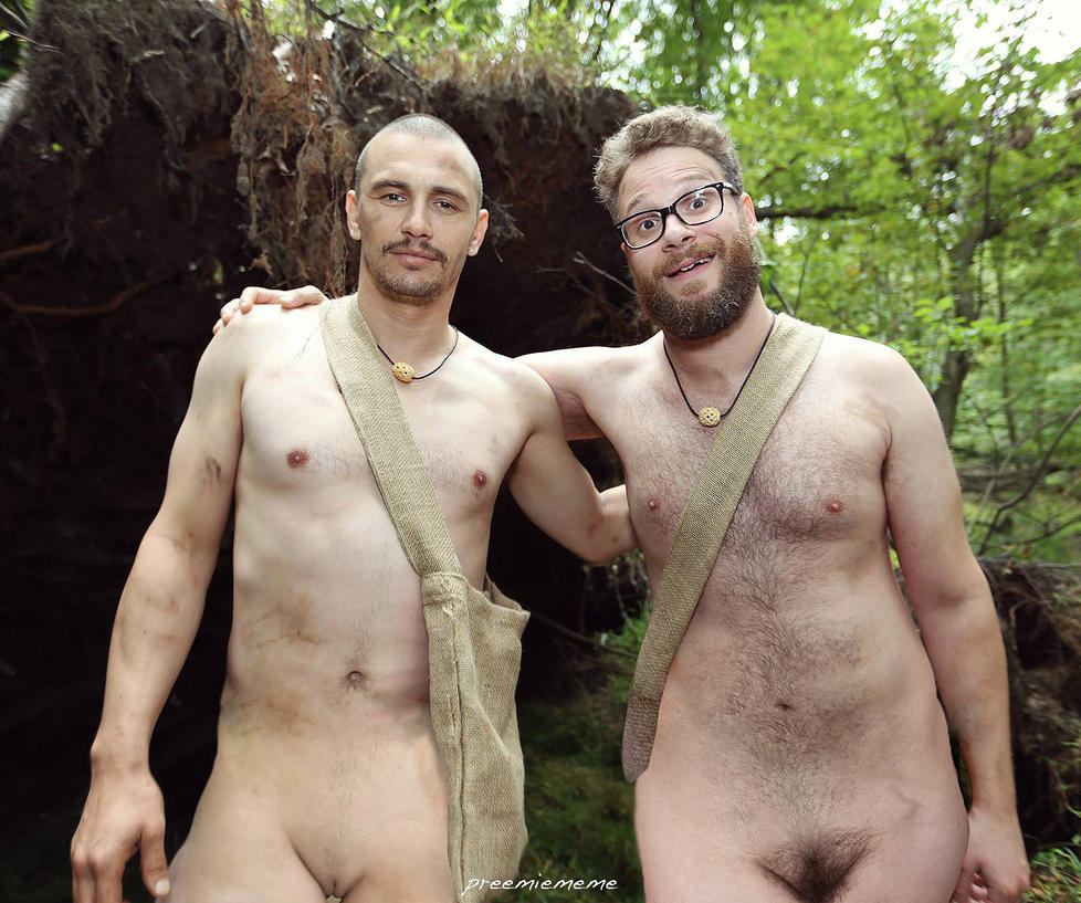 James franco  Seth Rogen Naked and AFRAID by preemiememe