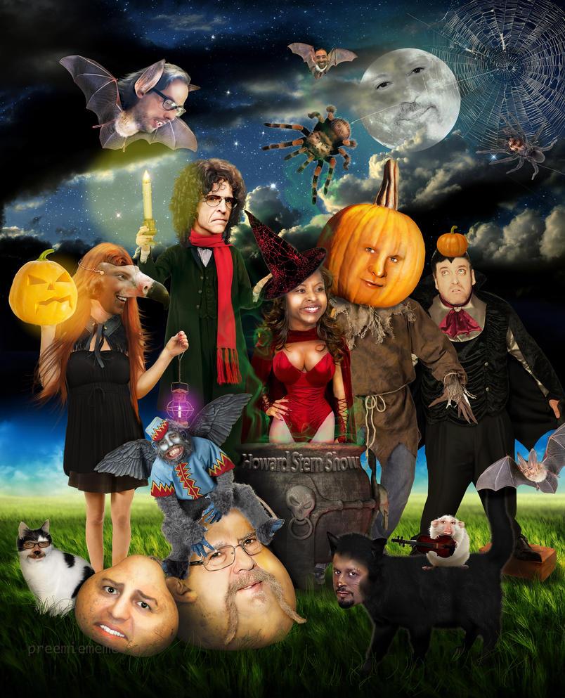 Stern Show Halloween by preemiememe