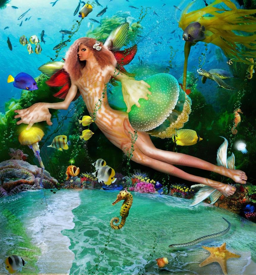 DERCETO's Sea by preemiememe