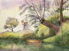 Barca y Molino