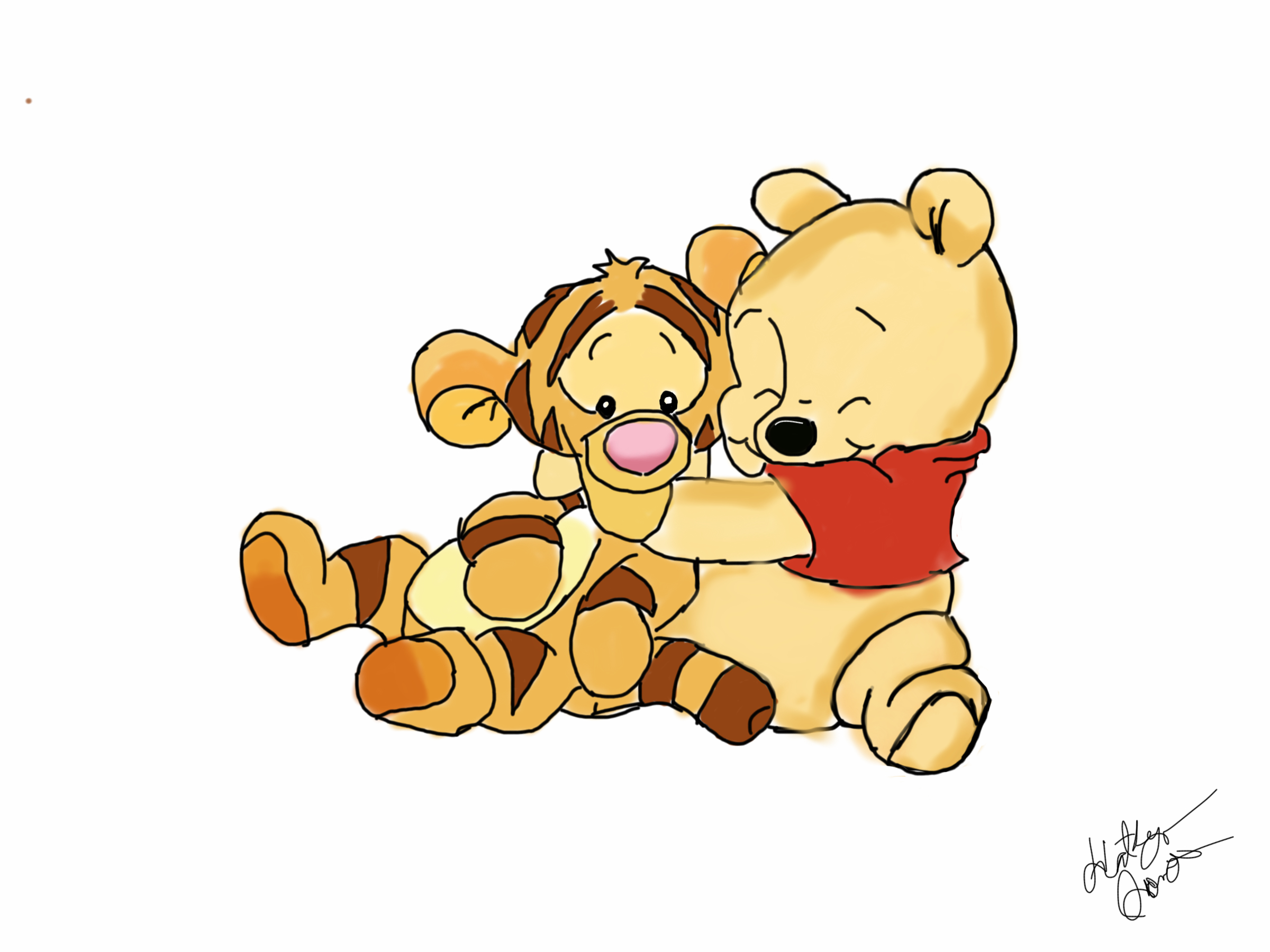 Baby pooh and tigger by DisneyLover23 on DeviantArt