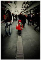 I Walk The Line by ComeWatchMyArt
