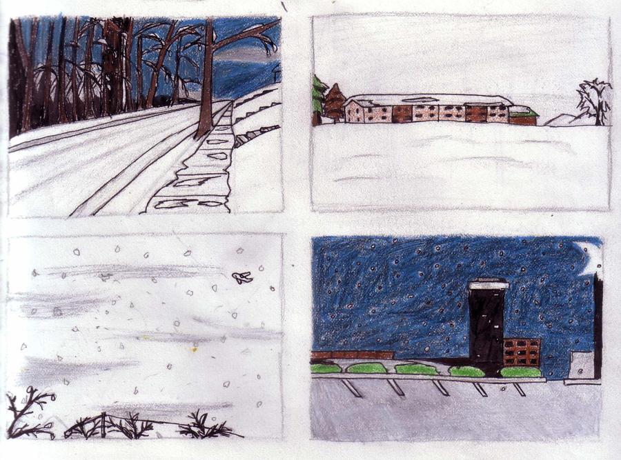 Winter season drawings by DSkehan2004 on DeviantArt
