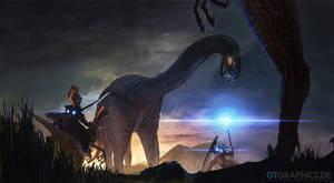 Der Blaue Adinosaurus by gucken