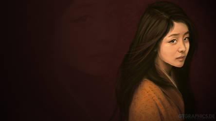 female portrait 1 by gucken