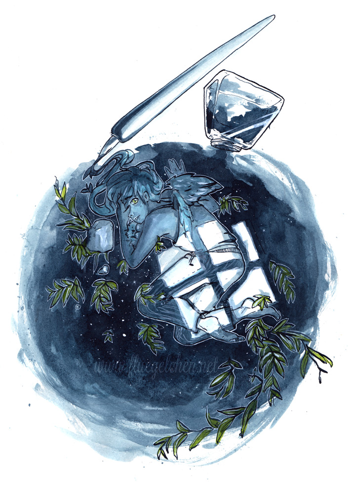 Inktober #01 by Fluegel