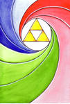 Triforce - Watercolor Exercise 1