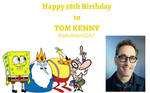 Tom Kenny is 58