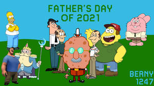 All DADS in different Animated series