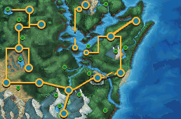 New Sehado Map by GregAndrade