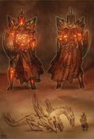 Guardian of the Flame by DjeDjehuti