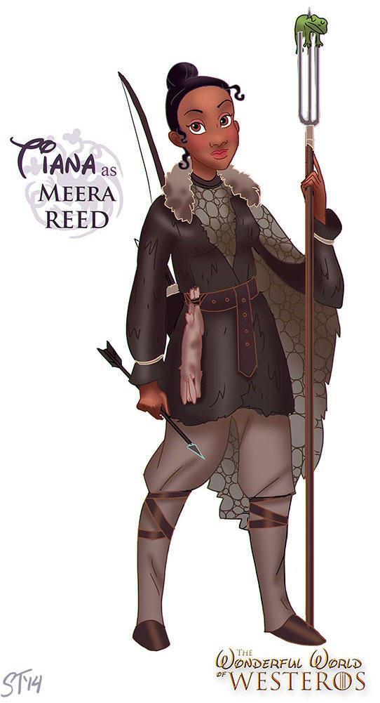 Tiana as Meera Reed