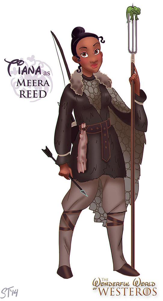 Tiana as Meera Reed by DjeDjehuti