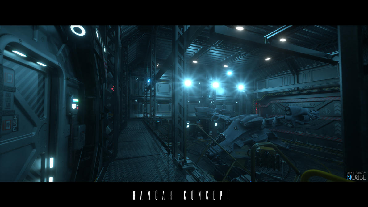 Hangar Concept by nobbe42