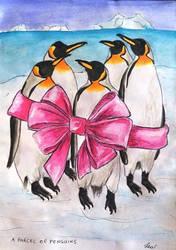A parcel of penguins by Lew-Rosenberg