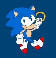 Sonic the Hedgehog by EdoBean