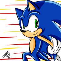 Sonic The Hedgehog - Fast Life by EdoBean