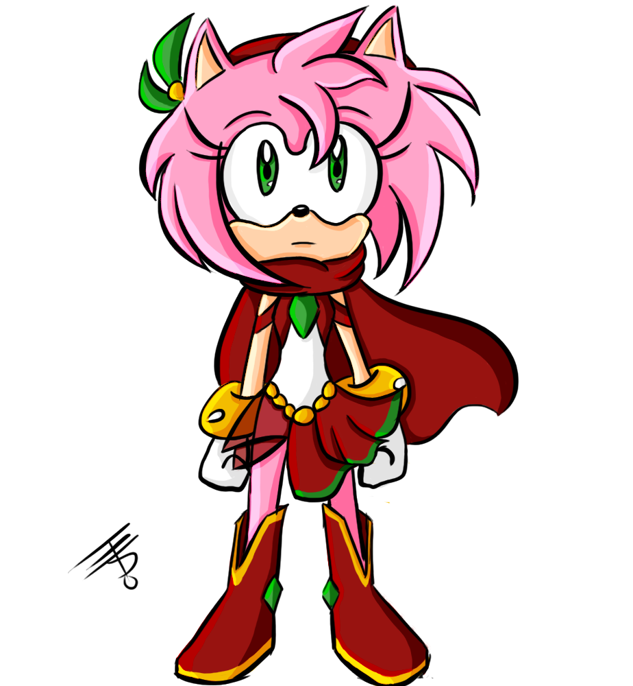 Warrior amy rose love will save the day by edobean on deviantart