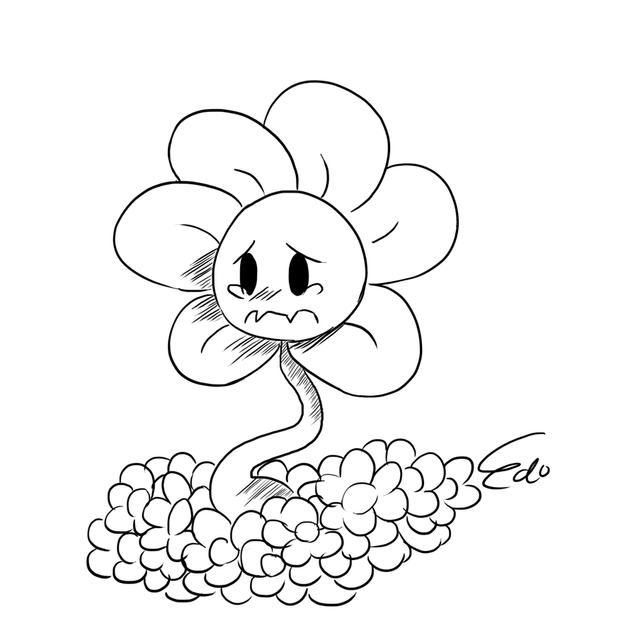 taking care flower coloring pages - photo#33