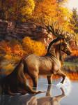 roar of autumn by LadyZizii