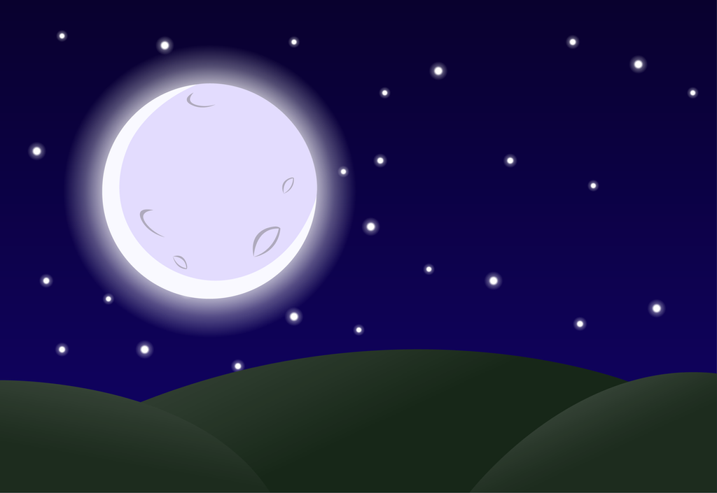 Nighttime Background By Firefall Mlp On Deviantart