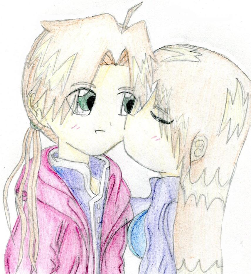 Me And Alphonse - Chu by OtakaraAminelli