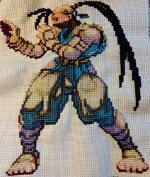 Cross-Stitch: Street Fighters - Ibuki