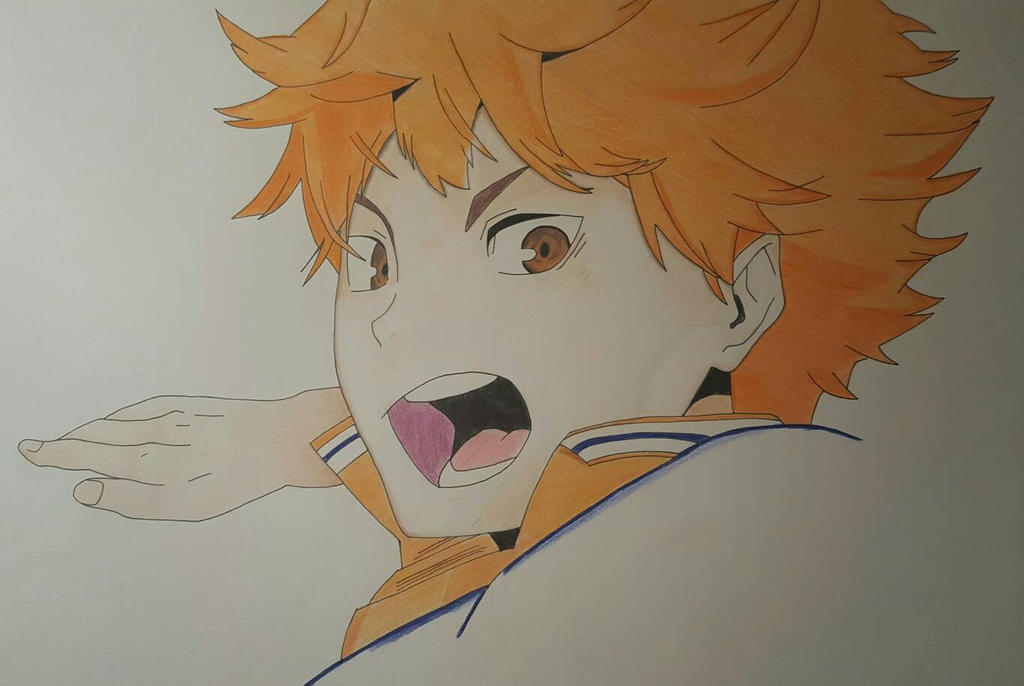 Hinata Shouyou   Haikyuu!! by blackhurricanes