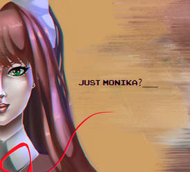 Just Monika? by TophRayne