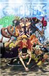 One Piece Vol 64 collab