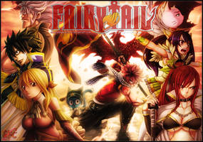 Fairy tail 279 Collab GFC by Law67