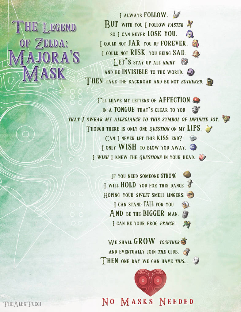 Majora's Poem by TheAlexTucci