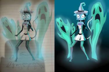 Lilith Necromancer by KRIPPEROK