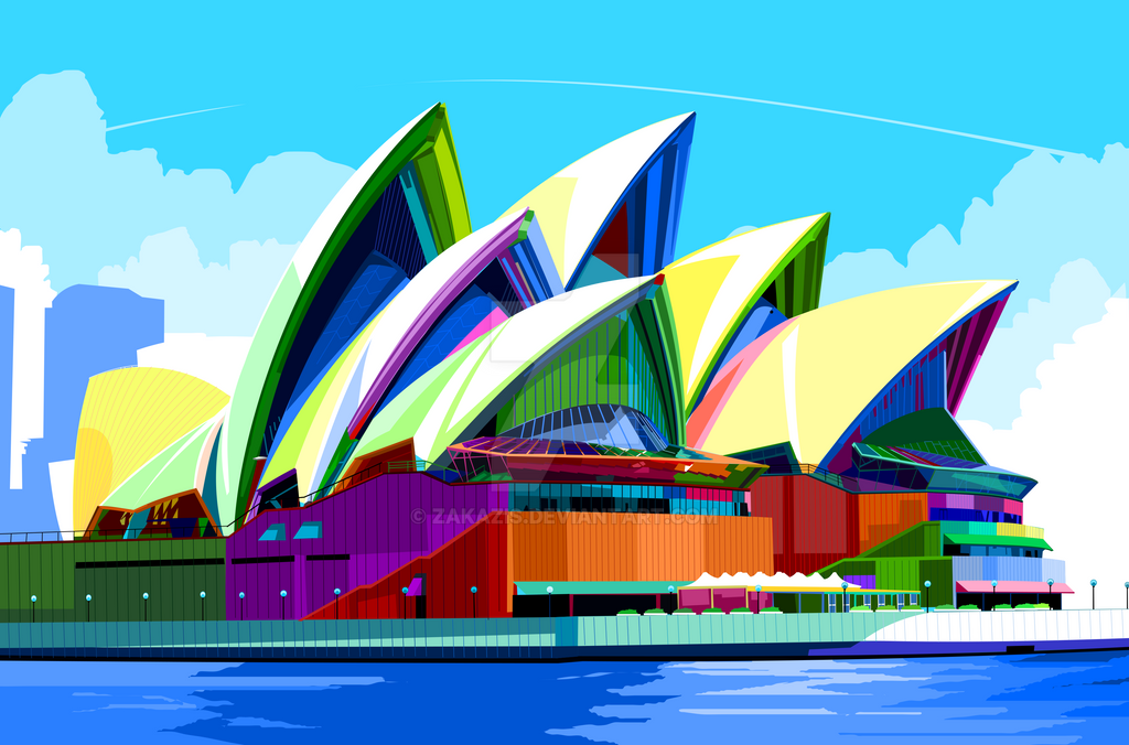 Sydney Opera House Art Installation And Home Design