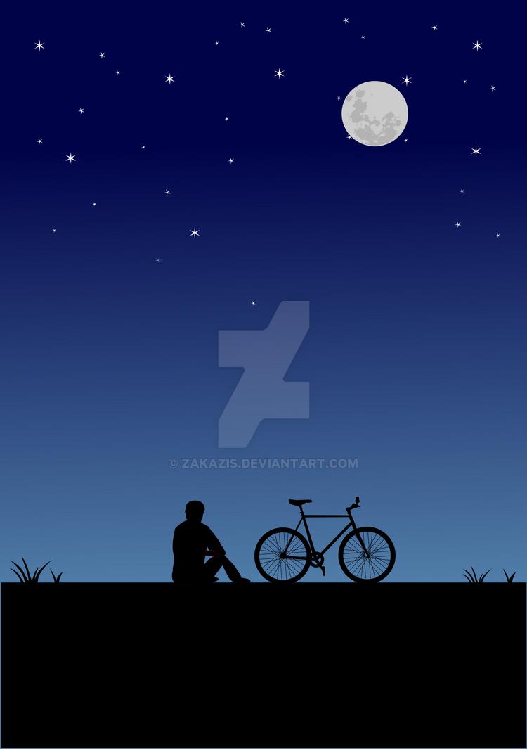 Night ride by zakazis