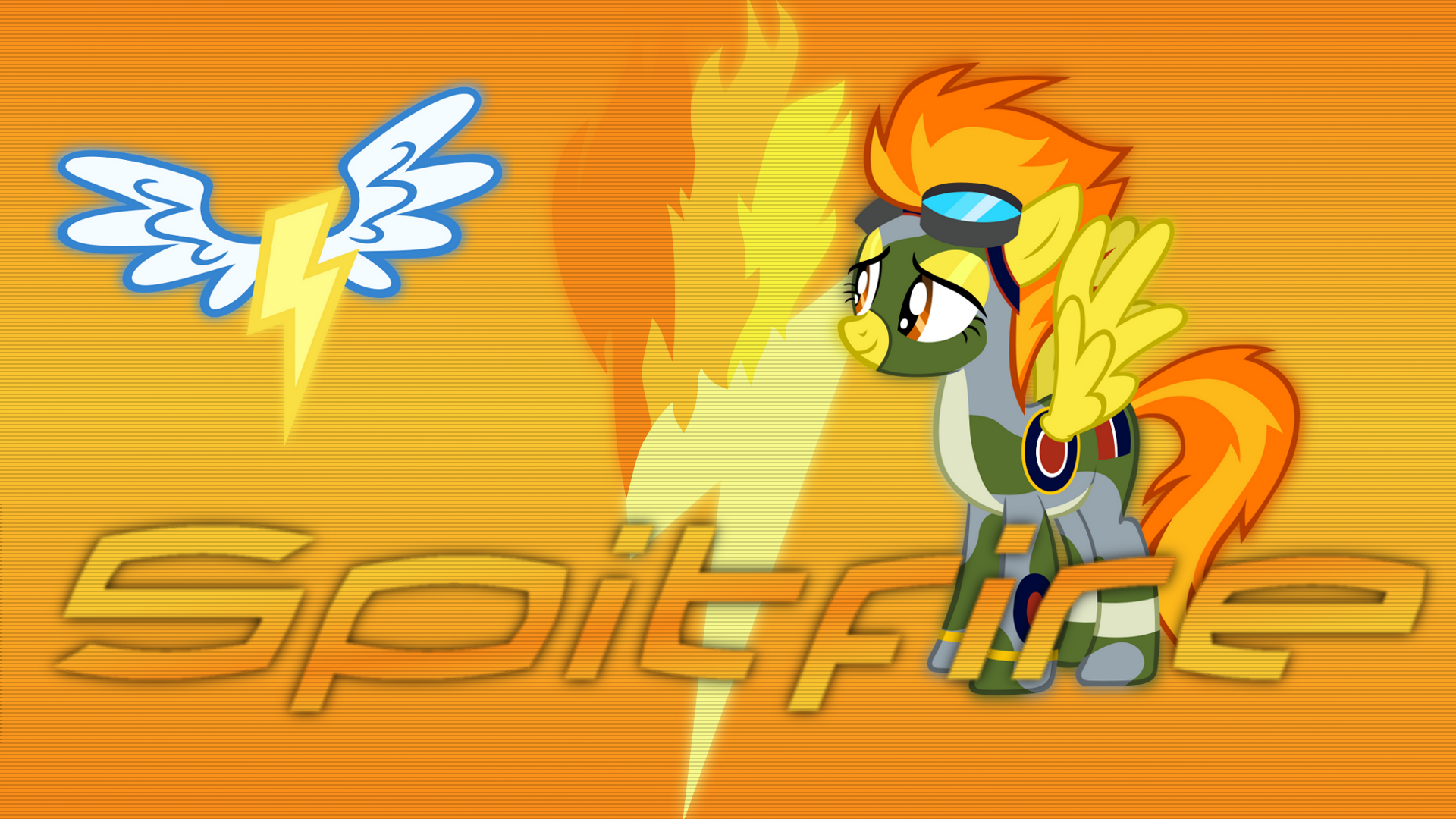 Spitfire Wallpaper [Series 1] by Mateo-theFox